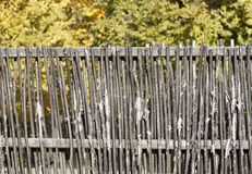 Wooden fence - RAW format Stock Images