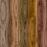 Wooden fence for seamless background Stock Photos