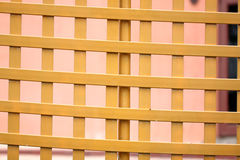 Wooden fence squares. Stock Images