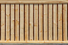 Wooden fence texture. The wooden texture of the fence yellow wood Stock Images