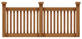 A wooden fence Royalty Free Stock Image