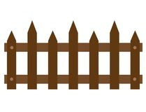 Wooden fences icon on white background. flat style. wooden fences icon for your web site design, logo, app, UI. fence of wood
