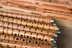 Wooden fife Stock Photos