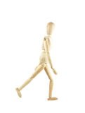 Wooden figure concepts Stock Photo