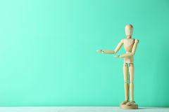 Wooden figure Royalty Free Stock Images