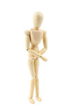 Wooden figure Royalty Free Stock Image
