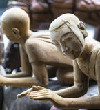 Wooden figures Stock Photography