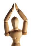 Wooden figurine Stock Photos