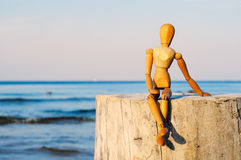 Free Wooden Figurine Stock Images - 47504584