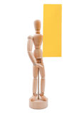 Wooden figurine Royalty Free Stock Image