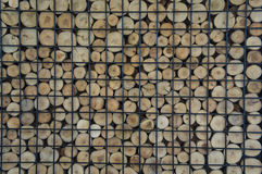 Wooden firewood floor laminated textured concept Royalty Free Stock Photography