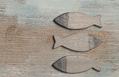 Wooden fish Royalty Free Stock Photo