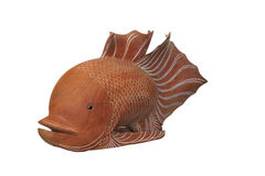 Wooden fish Royalty Free Stock Photography