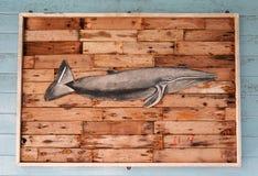 Wooden fish Stock Photos
