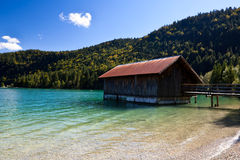 Wooden fisherman's house Royalty Free Stock Photography