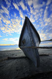 Wooden fishing boat Royalty Free Stock Photography