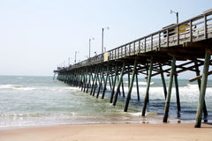 Wooden Fishing Pier Royalty Free Stock Images