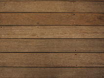 Wooden floor. A platform made with wooden planks Royalty Free Stock Image