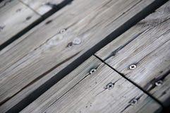 Wooden floor. Floor made of wooden planks Stock Image