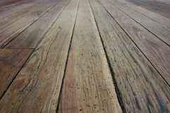 Wooden floor Royalty Free Stock Image