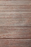 The wooden floor Stock Photography