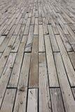 Wooden floor. Exterior old wooden floor texture Stock Photo
