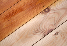 Wooden Floor. Textured part varnished wooded floor royalty free stock image