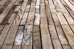 Wooden floor background Stock Photography