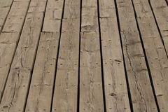 Wooden floor background. Detail of wooden floor background Stock Photography