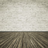 Wooden floor background image. An image of a grunge wooden floor background for your content Stock Photography