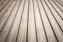 Wooden floor background photo texture. With perspective effect royalty free stock photo
