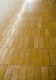 Wooden floor. Background showing distance Royalty Free Stock Photography