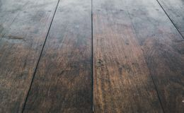 Wooden floor background - vintage wood boards texture royalty free stock image