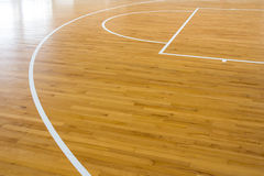 Wooden floor basketball stock photography