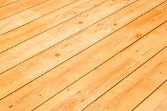Wooden Floor Boards Royalty Free Stock Photography