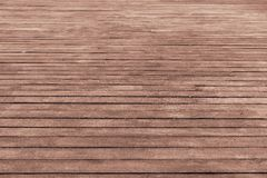 Wooden floor from brown boards Stock Photo