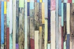 Wooden floor. Colorful retro looking wooden floor Stock Photo