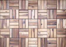 Wooden floor. From locust wood Royalty Free Stock Image