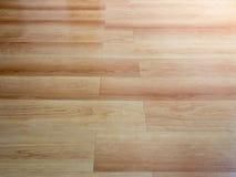 Wooden floor. New wooden floor of brown color stock image