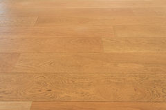 Wooden floor, oak parquet - wood flooring, oak laminate Stock Photo