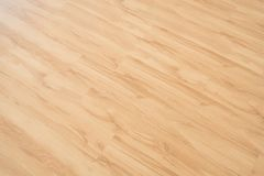 Wooden floor - oak wood parquet / laminate background.  stock photos