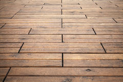 Wooden floor perspective. Background photo texture. Brown wooden floor perspective. Background photo texture Royalty Free Stock Photography