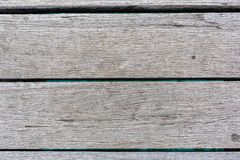 A wooden floor of the Port Noarlunga Jetty as an abstract texture South Australia on 23rd August 2018 stock image