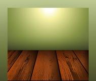 Wooden floor scene background Royalty Free Stock Photo