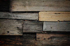 Wooden stack with bad condition Royalty Free Stock Images