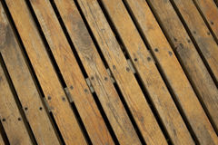 Wooden Floor with stripe and iron stock photos