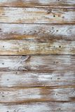 Wooden floor texture with nails, shabby background Stock Photography