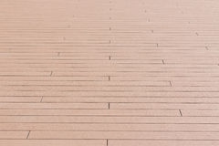 Wooden floor texture perspective view. Royalty Free Stock Image