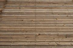 Wooden floor, vintage wood planks terrace floor royalty free stock photo