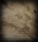 Wooden floor and wall fabric Stock Images